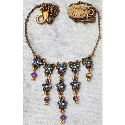 Michal Negrin Starflowers Drops Necklace