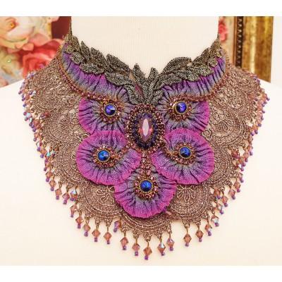 Michal Negrin Purple Gala Necklace