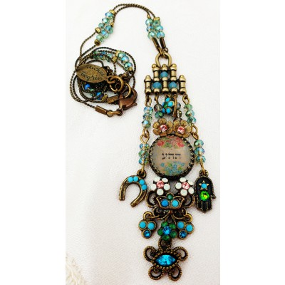 Michal Negrin Protection Drop Necklace