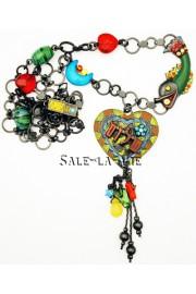 Amaro Multicolor Peace Necklace