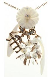Amaro White Flower Luck Necklace