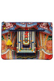 Camilla Franks Trek of the Nung Large Canvas Clutch