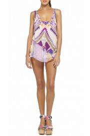 Camilla Franks Violet Eyes Asymmetric Tank Top Cami