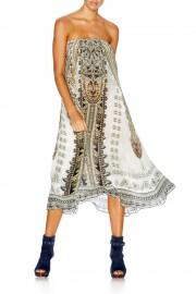 Camilla Franks Coats of Light Silk Pocket Skirt Dress