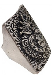 Camilla Franks Sacred Amulet Engraved Ring