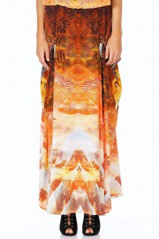 Camilla Franks The Lionheart Silk Pocket Skirt Dress