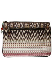 Camilla Franks Call Of the Wild Canvas Clutch