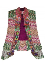 Camilla Franks Mandala Pleated Waistcoat Vest