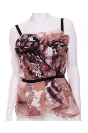 Dolce & Gabbana Hand Painted Corset Top