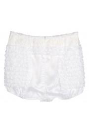 Dolce & Gabbana White Lace Shorts