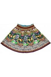 Dolce & Gabbana Pleated Sicily Skirt