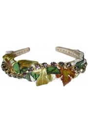 Dolce & Gabbana Leaves Crystals Headband