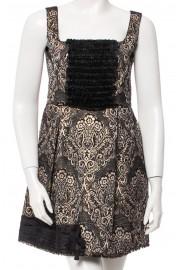 D&G Dolce & Gabbana Brocade Jacquard Dress