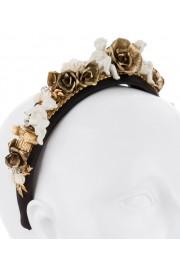 Dolce & Gabbana Cherubs Roses Baroque Headband