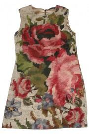 Dolce & Gabbana Roses Print Dress