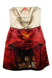 D&G Dolce & Gabbana Opera Mini Dress
