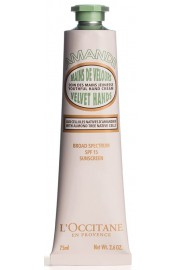L'Occitane Almond Velvet Hands SPF15 sunscreen hand cream 75ml / 2.6oz