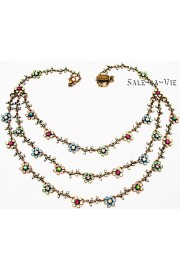 Michal Negrin Daisy Chains Necklace