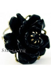 Michal Negrin Black Rose Ring