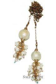 Michal Negrin Vintage Lavalier Necklace