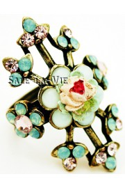 Michal Negrin Vintage Rose Ring