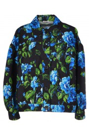 Miu Miu Blue Flowers Jacket