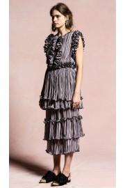 Romance Was Born Blossoming Pleat Dress