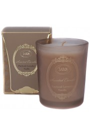 Sabon Patchouli Lavender Vanilla Candle in Glass 60 gram