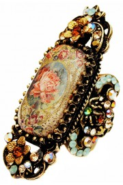 Michal Negrin Antique Rose Cameo Ring