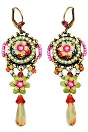 Michal Negrin Multicolor Sundown Earrings