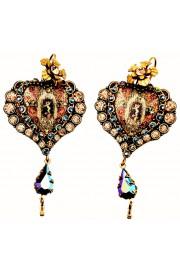 Michal Negrin Cupid Heart Earrings
