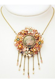 Michal Negrin Antique Necklace Brooch