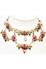 Michal Negrin Field of Roses Necklace