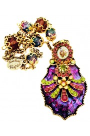 Michal Negrin Purple Bewitched Crystal Necklace