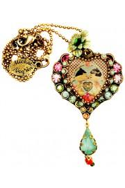 Michal Negrin Dolls Kiss Heart Necklace