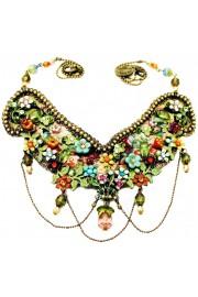 Michal Negrin Multicolor Silk Necklace
