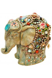 Michal Negrin Vintage Elephant Figurine
