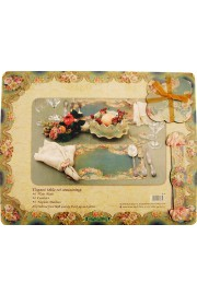 Michal Negrin Rectangle Placemats and Coasters Set