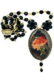 Michal Negrin Gothic Cameo Necklace