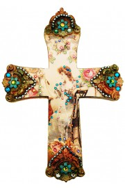 Michal Negrin Woman Wall Decor Large Cross