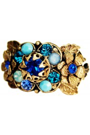 Michal Negrin Blue Flora Ring