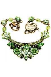 Michal Negrin Green Crest Necklace