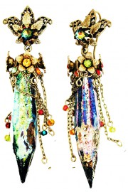 Michal Negrin Multicolor Bewitched Earrings