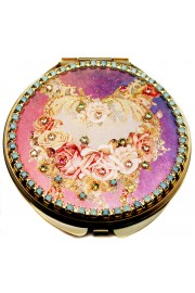 Michal Negrin Baroque Roses Compact Mirror