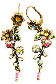 Michal Negrin Cherry Blossom Earrings