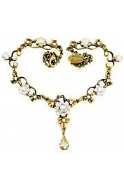 Michal Negrin White Ornate Necklace