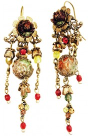 Michal Negrin Vintage Boho Earrings