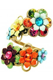 Michal Negrin Multicolor Spiral Ring