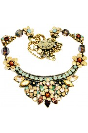 Michal Negrin Earth Tones Crest Necklace