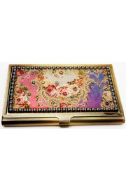 Michal Negrin Victorian Roses Cards Case